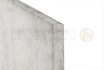 Onderplaat beton Wit Grijs, voor betonpaal, lang 1840.