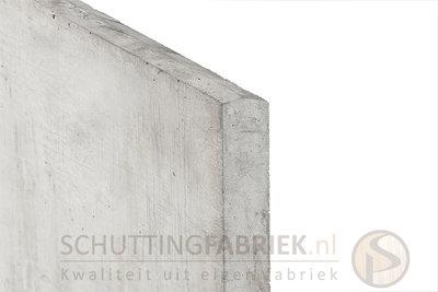 Onderplaat beton Wit Grijs, uitsluitend voor sleufpaal, lang 1800.