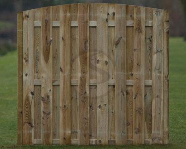 Toogscherm Helmond plankdikte 16 mm, 17 planken