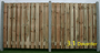 3.1 Deventer 21 planks,betonnen tussenpalen vanaf  prijs € 40.91 per meter